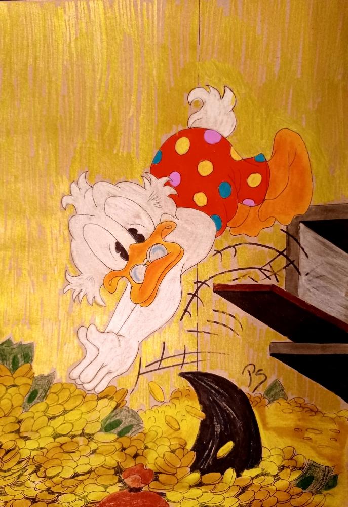 Scrooge McDuck par PenStilos